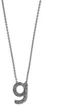 KC Designs White Gold Diamond Letter G Necklace
