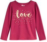 Epic Threads Little Girls' Mix and Match Love Graphic-Print T-Shirt, Only at Macy's