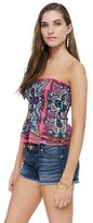 Juicy Couture Aztec Floral Top