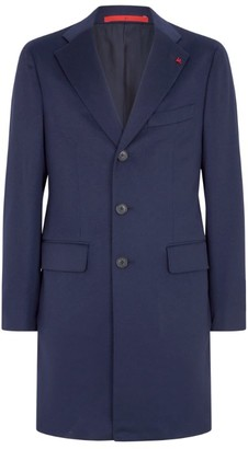 Isaia Wool Overcoat