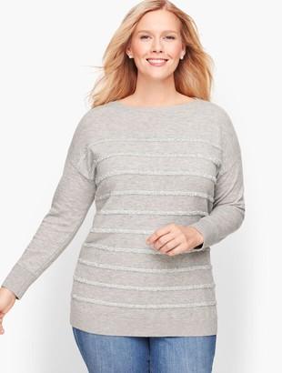 Talbots Tinsel Stripe Sweater