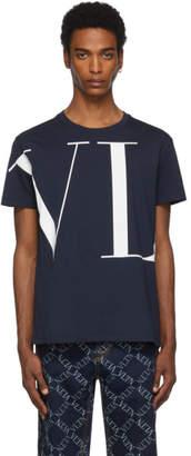 Valentino Navy VLTN T-Shirt