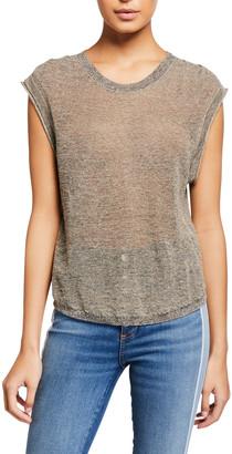 Veronica Beard Jeans Farah Sleeveless Pullover Sweater
