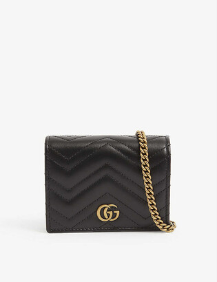 Gucci GG Marmont leather purse