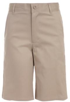 Nautica Big Boys Husky Hunter Flat-Front Stretch Twill Shorts