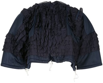 Comme des Garcons Pre-Owned ruffled jacket