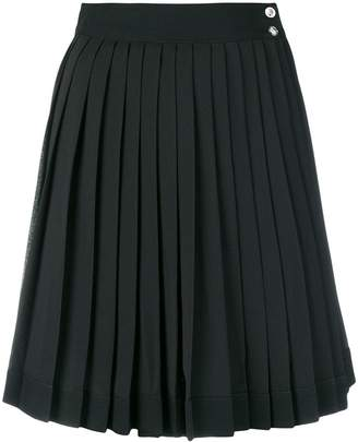 Versus high-waist pleated skirt