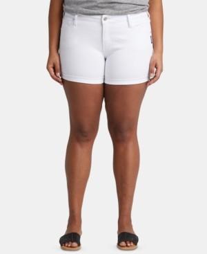 Silver Jeans Co. Plus Size Denim Boyfriend Shorts
