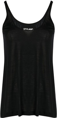 Styland Scoop Neck Tank Top