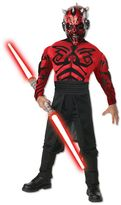 Kids Star Wars Deluxe Muscle Chest Darth Maul Costume