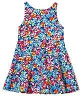 Ralph Lauren Multi Floral Fit and Flare Dress