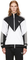 Adidas X White Mountaineering Black and White Track Jacket