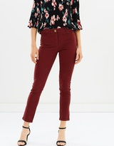 Dorothy Perkins Sateen Skinny Chino Trousers