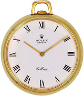 One Kings Lane Vintage 1980s 18K Gold Rolex Pocket Watch