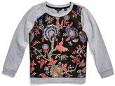 GUESS Mixed-Media Sweatshirt (7-16)