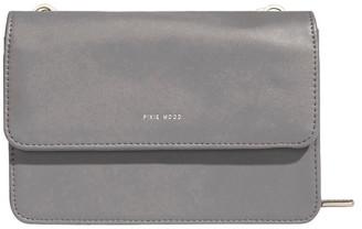 Pixie Mood JAN219-CB-03 Jane Flap Over Grey Wallet Crossbody Bag