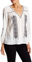 Joie Soley Semi-Sheer Blouse