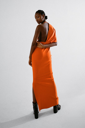 Elliatt Risen Asymmetrical Maxi Dress