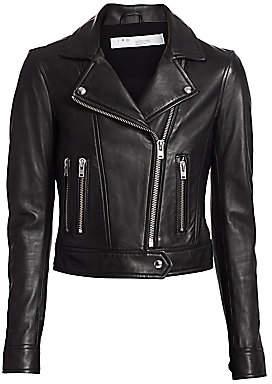 IRO Women's Hartley Leather Moto Jacket