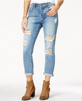 American Rag Ripped Santa Cruz Wash Girlfriend Jeans, Only at Macy's