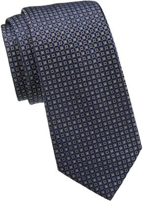 Giorgio Armani Micro Print Silk Tie