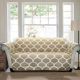 Lush Decor Geo Furniture Protector, Loveseat, Taupe