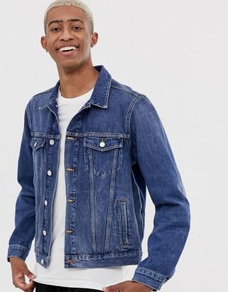 Scotch & Soda classic trucker denim jacket-Blue