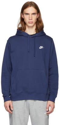Nike Navy Club Hoodie