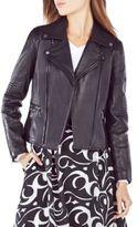 BCBGMAXAZRIA Lila Leather Moto Jacket