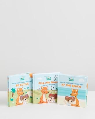 Mizzie The Kangaroo Books, Books, Books - Baby Gift Set