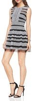 BCBGMAXAZRIA Embroidered Lace Dress