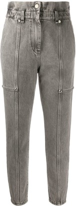 IRO High-Rise Cropped Jeans