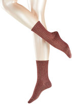 Falke Ribbed Ankle Socks with Cotton