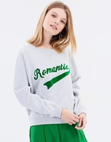 Maison Scotch Crew Neck Varsity Sweater