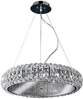 Design by Grönlund 9287/8 Maranello Pendant, Crystal, Chrome, G9
