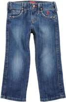 Jaggy Denim pants - Item 42445569