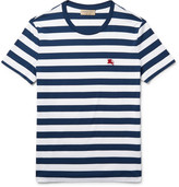 Burberry Slim-Fit Striped Cotton-Jersey T-Shirt