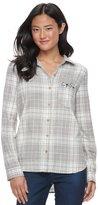 SO Juniors' SO® Pocket Plaid Flannel Shirt