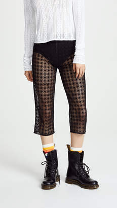 Marc Jacobs The Redux Grunge Cropped Pants