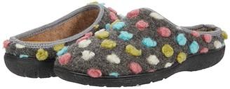Cordani Mercy Slipper (Grey Pom-Pom) Women's Shoes