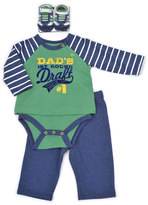 Vitamins Baby Baby Boy Graphic Mock-Layer Bodysuit