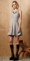 Greylin Mohair Knit Sweater Dress