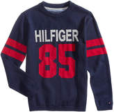 Tommy Hilfiger Graphic-Print Cotton Sweater, Little Boys