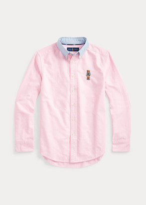 Ralph Lauren Preppy Bear Cotton Shirt