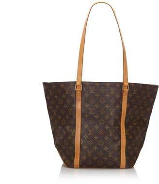 Louis Vuitton Brown Monogram Sac Shopping 48