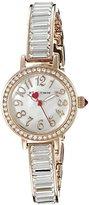 Betsey Johnson Women's BJ00549-03 Analog Display Quartz Rose Gold Watch