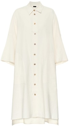 Joseph Baker cotton and linen shirt dress