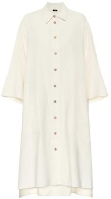 Joseph Baker cotton and linen shirt dress