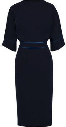 Roksanda Mave Bow-embellished Stretch-crepe Dress