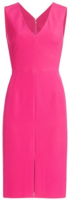 Milly Kristian Sleeveless Cady Dress